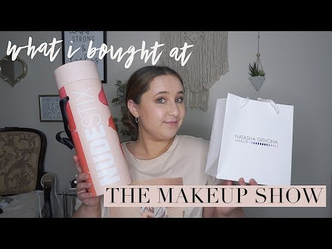 WHAT I BOUGHT AT THE MAKEUP SHOW (aka HUGE haul)!    Chelsea Dae thumbnail