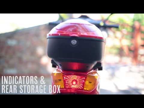 All Seasons Scooters E-moto 48v