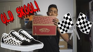 VANS OLD SKOOL 'CHECKERED' ON FEET REVIEW!