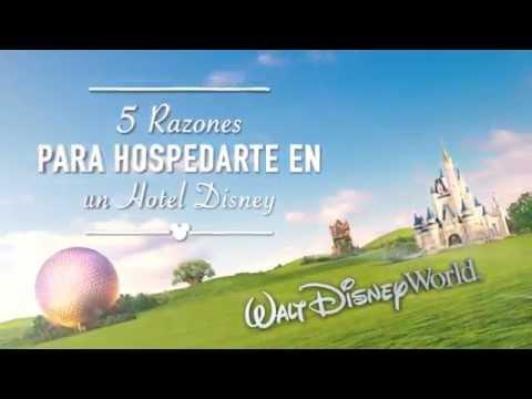 5 Razones para hospedarte en un hotel Disney | Walt Disney World | Parques Disney