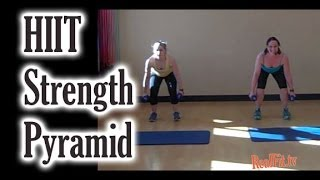 HIIT Strength Pyramid Workout: In Like a Lion Out Like a Lamb