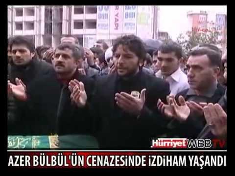 AZER BÜLBÜL'ÜN CENAZE TÖRENİNDE...