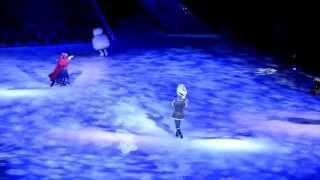 In summer - Frozen Disney on Ice Live