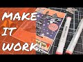 How To Make Unrelated Stamps Work Together in a Special Card!