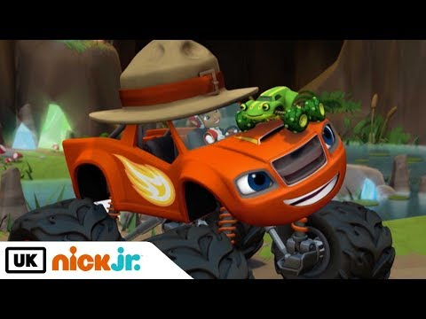 Blaze and the Monster Machines   Croaking Cave Frog   Nick Jr. UK
