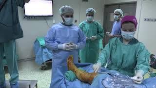 Ayak Bileği Artroskopisi Vaka 1 Hazırlık