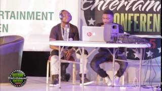 Davido and Shizzi demonstrate how to make a hit song at #NECLive