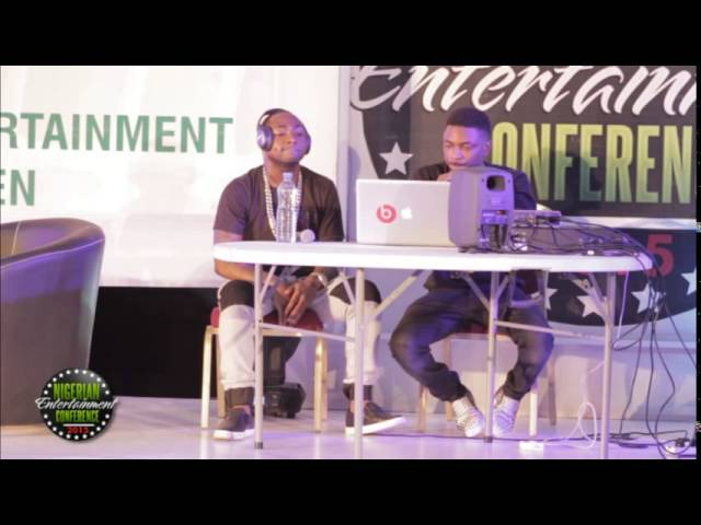 Davido and Shizzi demonstrate how to make a hit song at NECLive
