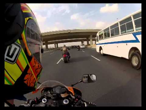 Motorcycle Ride, Qatar and Emirates riders Doha to Al Khor (part 2)