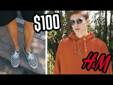 THE $100 H&M BACK TO SCHOOL OUTFIT CHALLENGE!