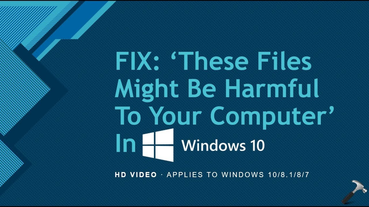windows security these files might be harmful to your computer gpo