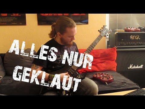 Callejon - Alles nur geklaut (HD Guitar Cover)