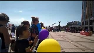 Коляска-комбайн на парад колясок (часть2) г.Новороссийск 2017