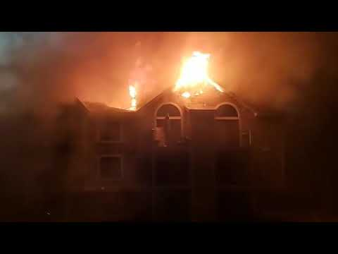 Arbor Lakes Apartment Fire Elkhart Indiana 1/8/2019