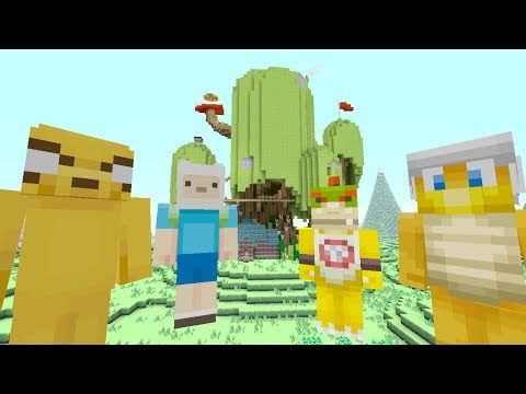 Minecraft Switch - Nintendo Fun House - Bowser Jr's Adventure Time! [92]