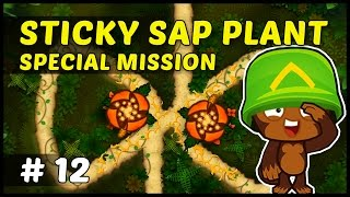 STICKY SAP PLANT SPECIAL MISSION - Bloons Monkey City - Episode 12