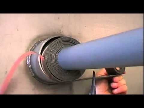 Roxtec PPS Seal Installation