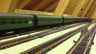 Hinchley Wood Model Railway Video 18