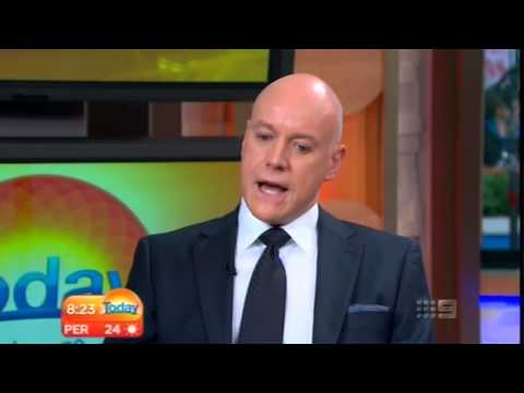 Anthony Warlow talking about his broadway debut in Annie