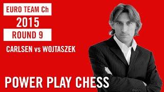 European Team Championship 2015 Reykjavik Round 9 Carlsen vs Wojtaszek