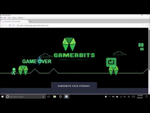 Gamerbits eSports ICO -- SAFE Network Cold Storage App