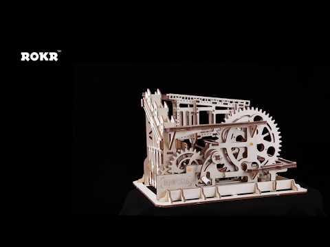 Robotime Magic Crush - Marble Run Model Building Kits - Cog coaster LG502
