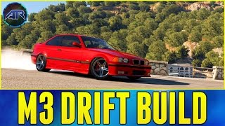 Forza Horizon 2 : BMW M3 E36 DRIFT BUILD!!! (Mountain Drifting, 1080p)
