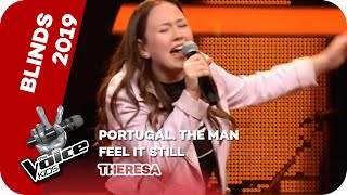Portugal. The Man - Feel It Still (Theresa) | Blind Auditions | The Voice Kids 2019 | SAT.1