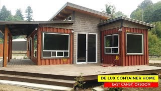 De Lux Shipping Container Tiny House by Relevant Buildings | O…