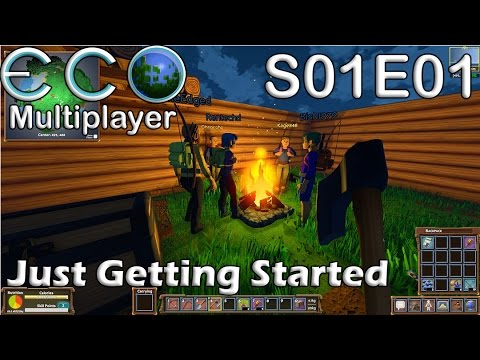 Let's Play Eco | S01E01 MP | Just Getting Started