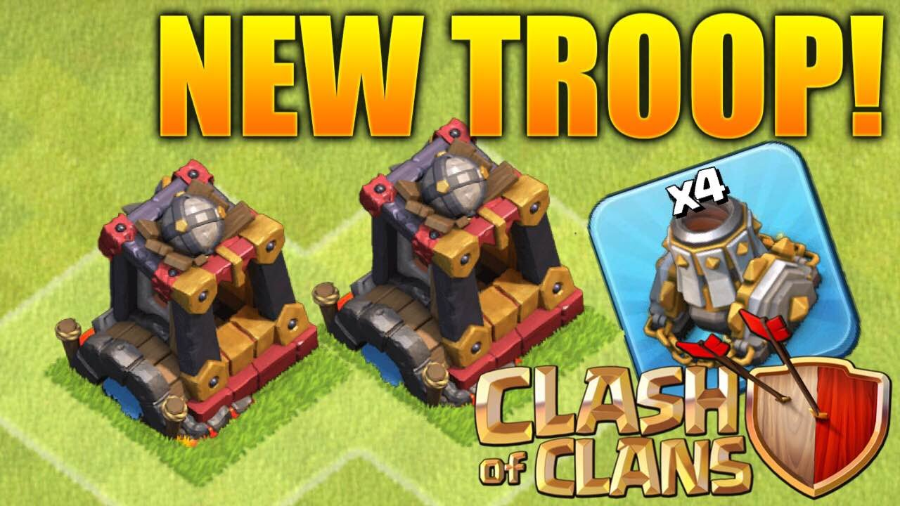Clash of Clans - NEW! Dark Troop! Dark Barracks Level 6 ...