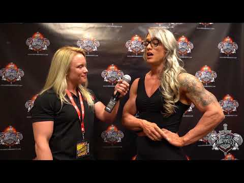 2018 IFBB Omaha Professional: Amanda Smith Women's Bodybuilding Competitor