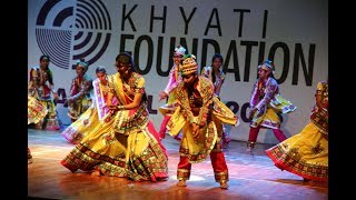 Dholi Taro Dhol Baaje song Dance Performance | Khyati Foundation Annual Day 2018