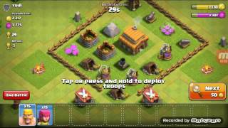 Upgrade Town Hall to Level 3 (Clash of Clans Part 2)