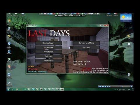 Daym | minecraft mod dayz | 1. 7. 10 | español youtube.