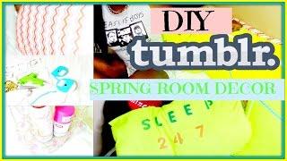 Easy Diy Tumblr & Pinterest Inspired Spring Room Decor For Cheap! (no Sew) Mensahgurl