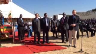 Malcolm Johnson, Director, TSB, ITU @ Murombedzi, Zimbabwe