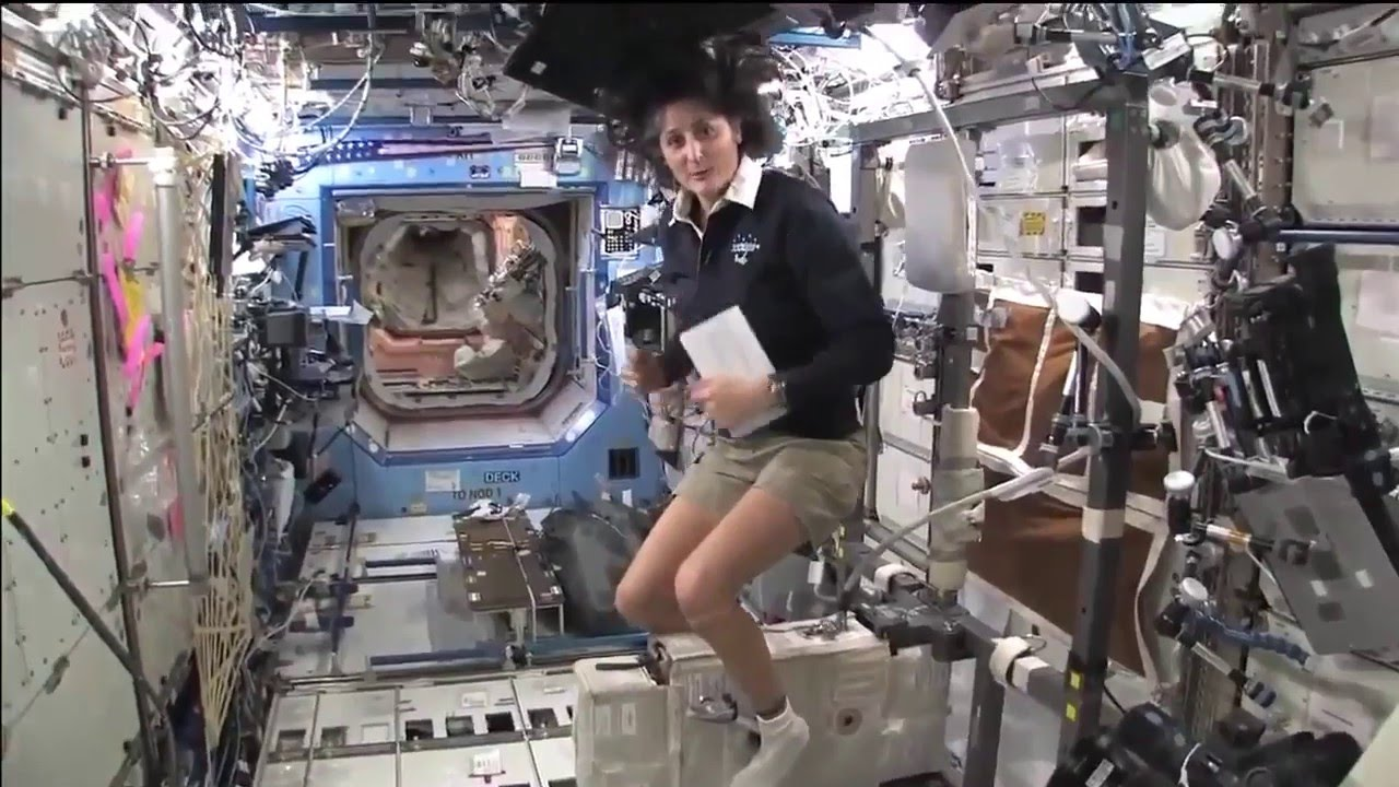 sunitha williams in space