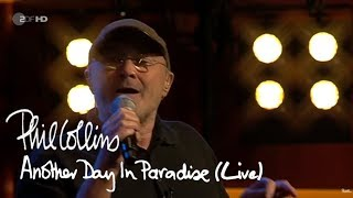 Скачать Phil Collins Another Day In Paradise Live