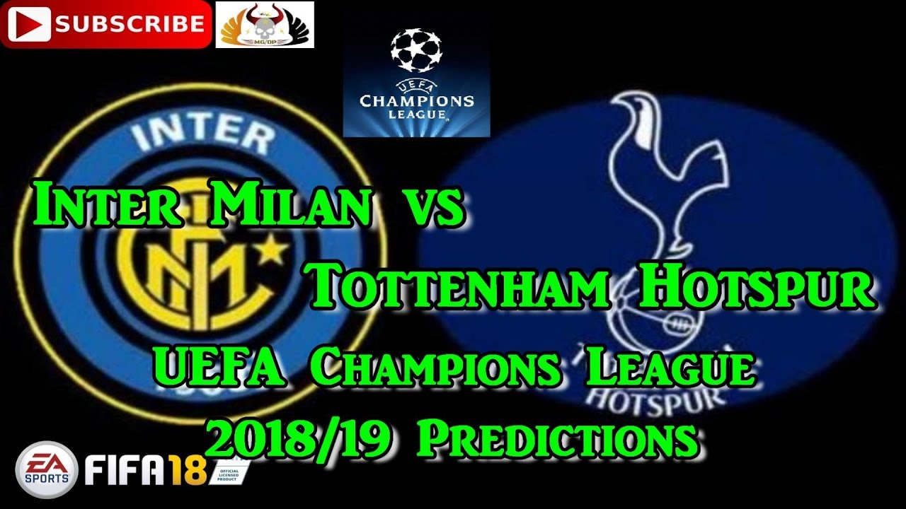 Tottenham Hotspur Vs Inter Milan Prediction
