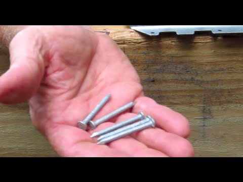 Diy Shed Askthebuilder Joist Hanger Nails And Screws Youtube