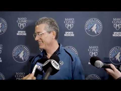 Timberwolves Gm Scott Layden Media Availability Jan 7 2019