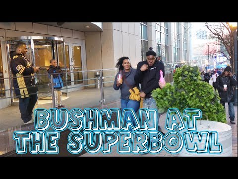 Bushman At The Superbowl Part 1 FUNNY VIDEO