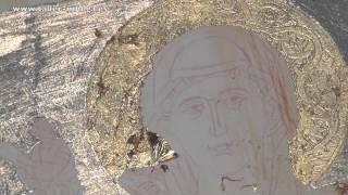 ICONO BIZANTINO LA AUREOLA II