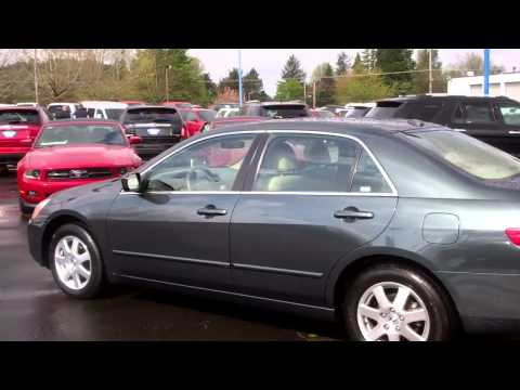 Honda Accord EX 2005 with 3.0lt VTEC with only 46k miles at Gresham Ford