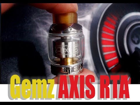 Gemz AXIS RTA  LIVE Review