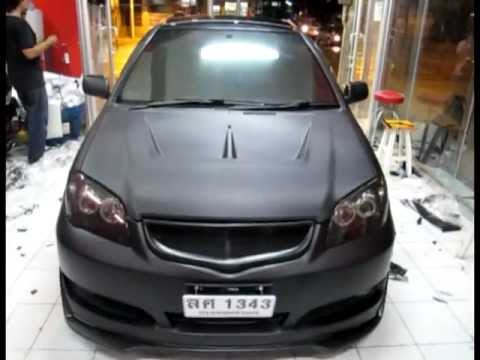 Autocar wrap Vios Matte Black.mpg