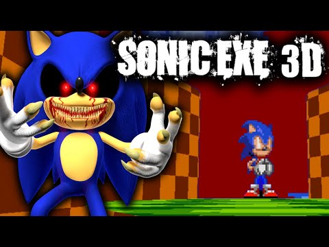 SONIC.EXE IS NOW IN 3D AND IT'S BETTER THAN EVER! TAILS ACT + SECRET LEVEL [Sonic HORROR GAME]