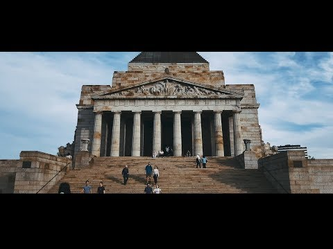 City of Melbourne - Travel Australia - iPhone X Cinematic 4K - With Time Lapse