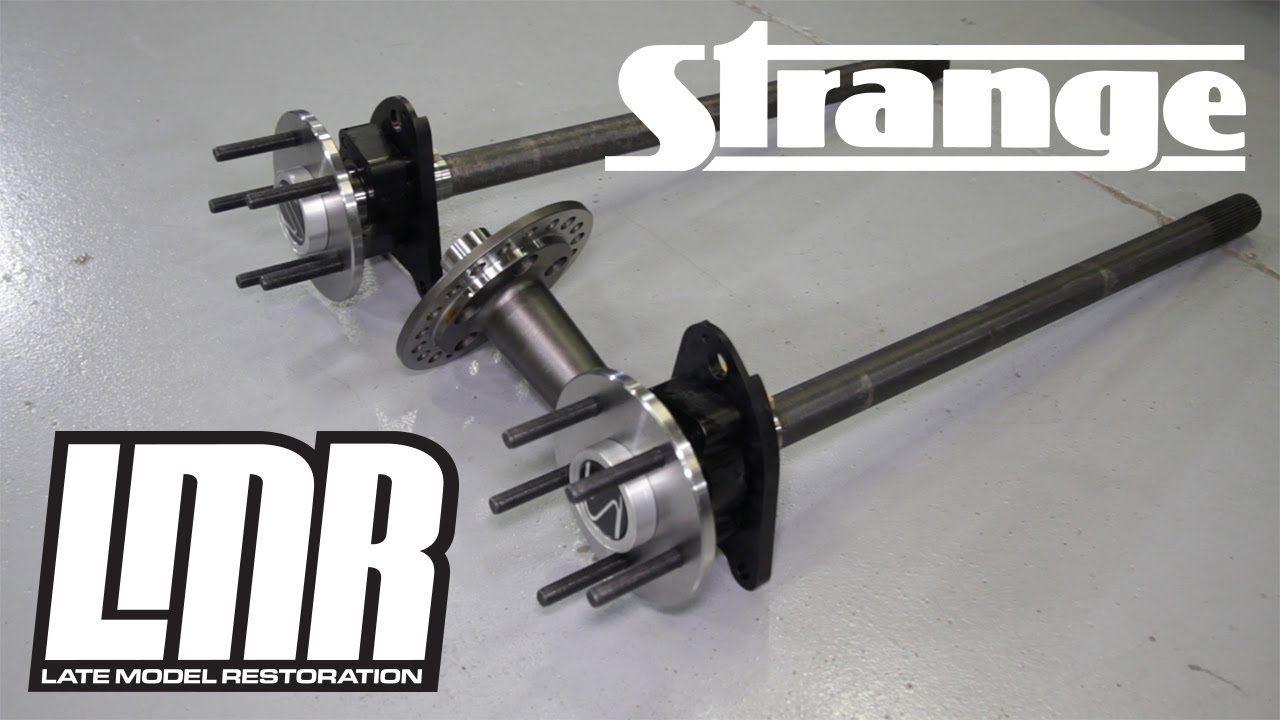 Sn rear disc swap w/fox length strange c clip elim. Axles | the.